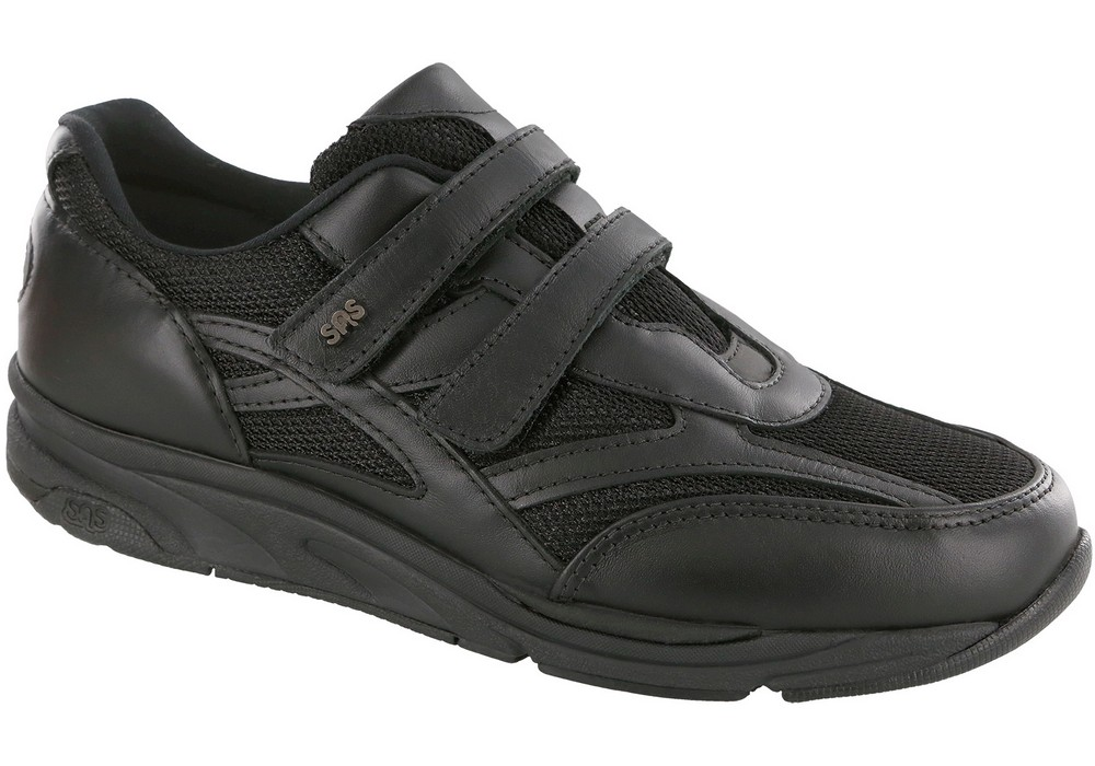 tmv black active tennis sas shoes