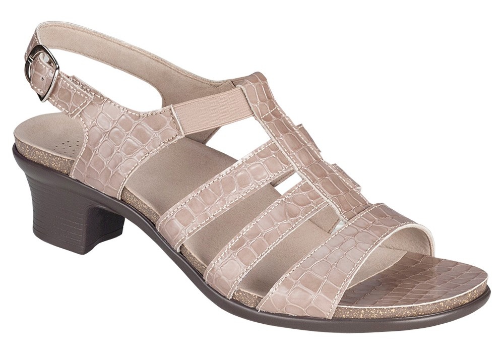 8f3592a3ccb1ed allegro taupe croc leather sandal womens sas shoes