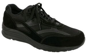 Journey Black Mesh Black Tennis Shoe