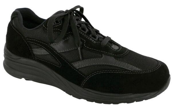 Journey Black Mesh Black Tennis Shoe