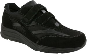 JV Mesh black tennis shoe